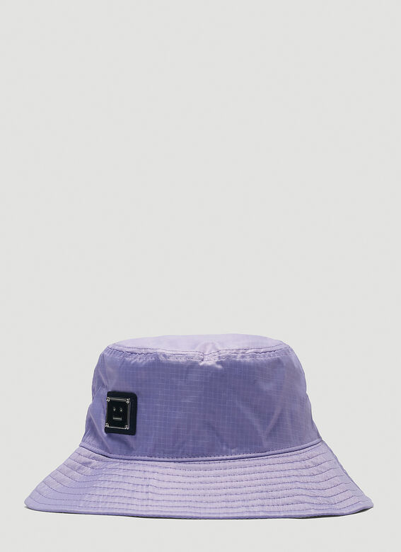 Acne Studios Logo Bucket Hat 1