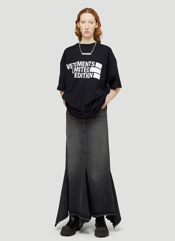Vetements BIG LOGO LIMITED EDITION T-SHIRT 2