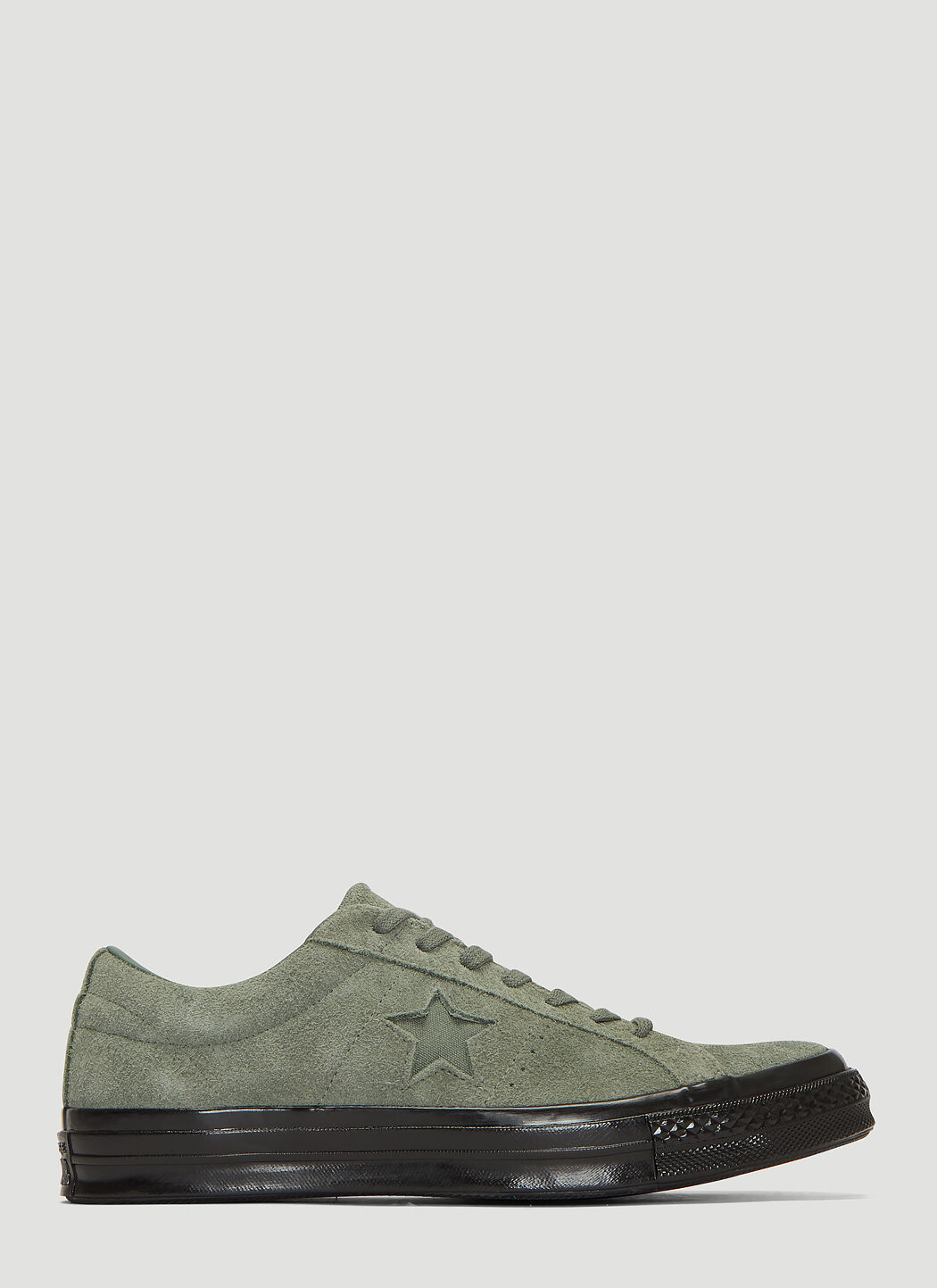 Converse One Star Suede Sneakers in Green | LN CC