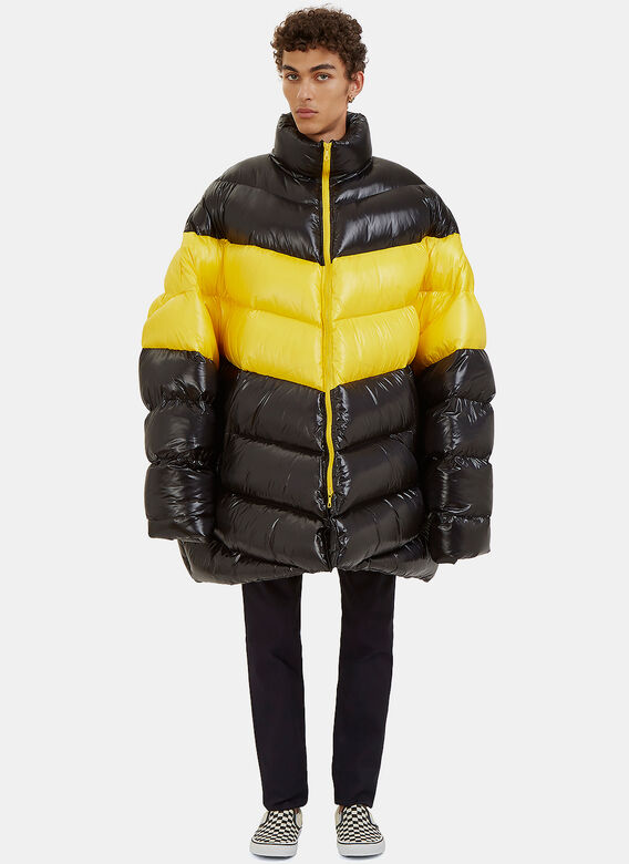 Image result for oversized puffa jacket