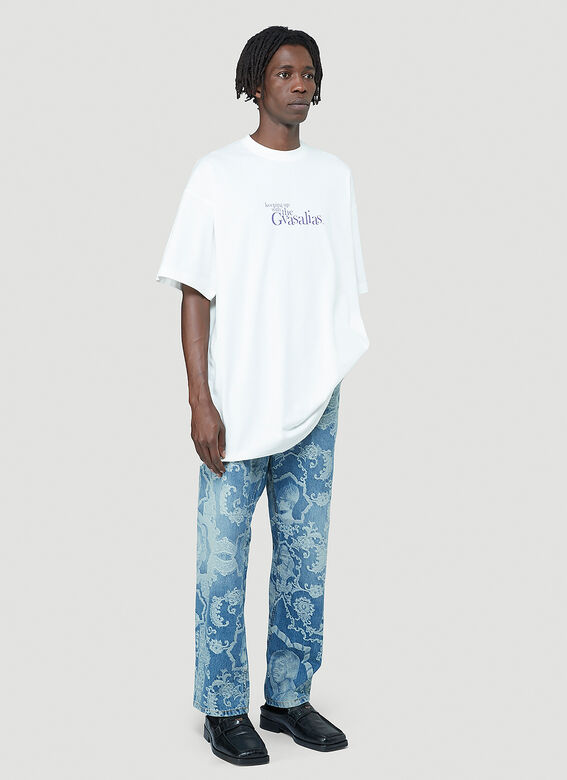 Vetements Keeping Up With The Gvasalias T-Shirt 2