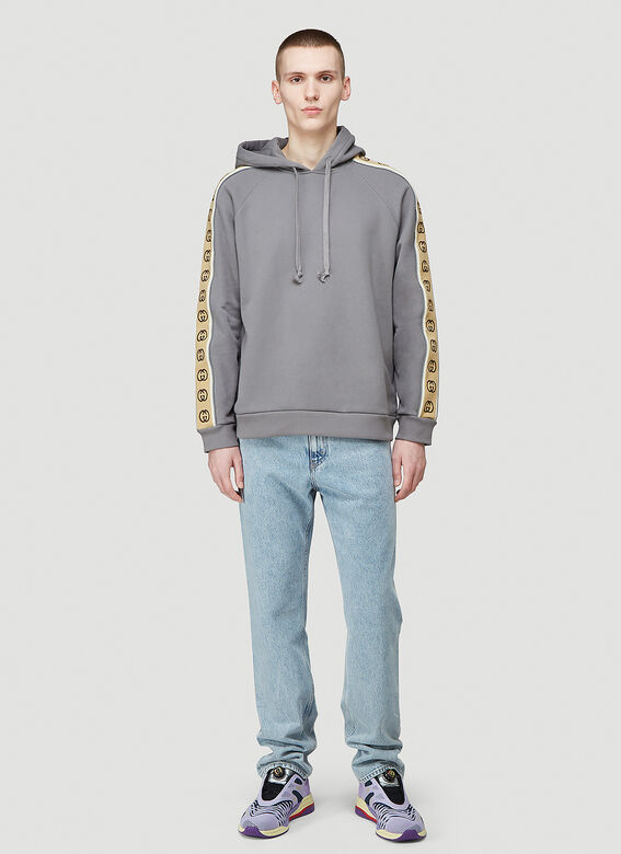 Gucci HOODED SWEATSHIRT HEAVY FELTED COTTON JERSEY 2