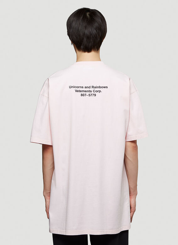 Vetements MAGIC UNICORN T-SHIRT 4