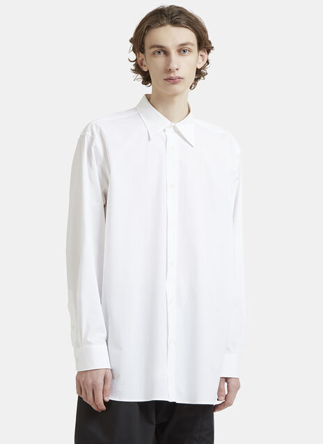 Raf Simons Oversized Embroidered Shirt