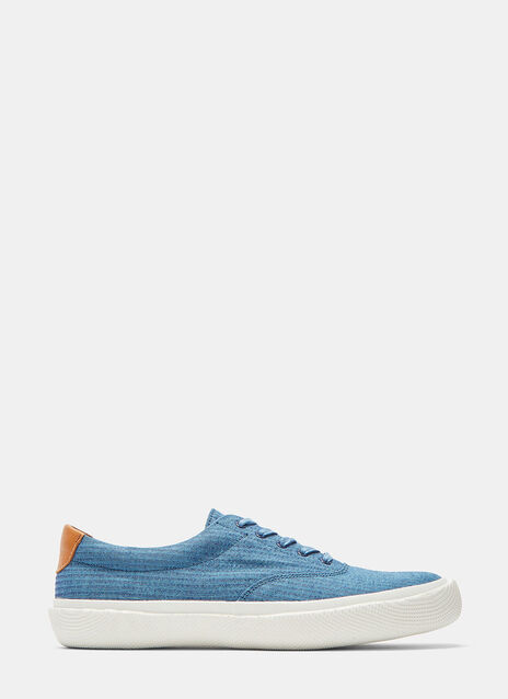 Spingle Move W Shijira Woven Low-Top Sneakers