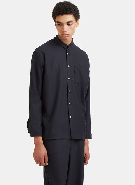 Marvielab Dropped Sleeve Patch Pocket Shirt