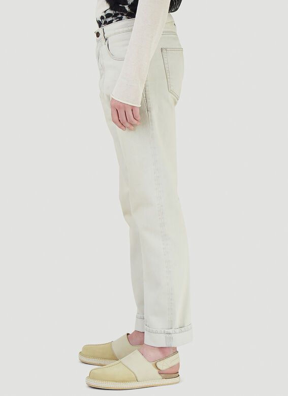 Saint Laurent RELAXED STRAIGHT JEA 3