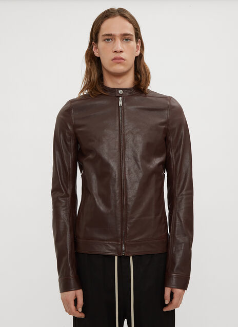 Rick Owens Lou Leather Jacket