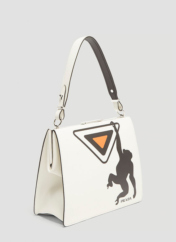 Prada Light Frame Monkey Bag