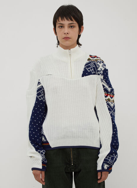GmbH Arthur Reclaimed Knit Sweater