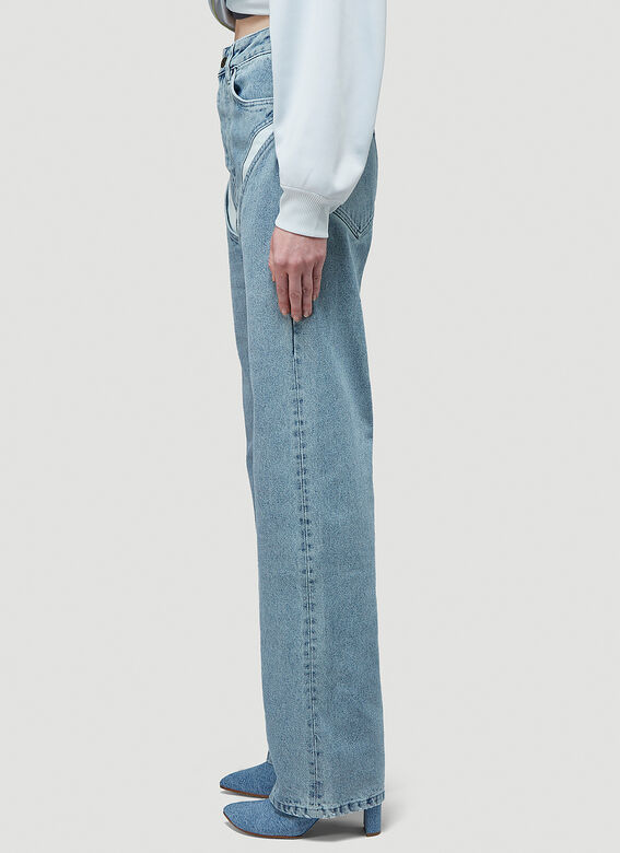 Y/Project CLASSIC V CUT-OUT JEAN 3