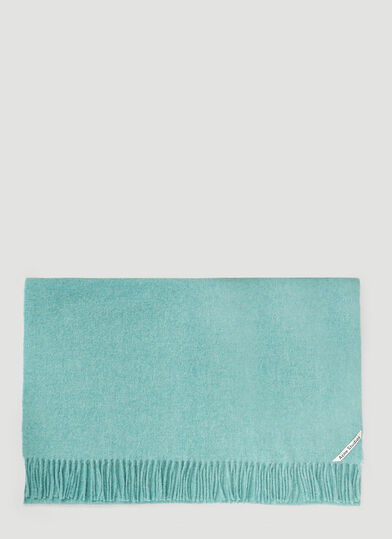 아크네 스튜디오 Acne Studios Canada New Scarf in Green