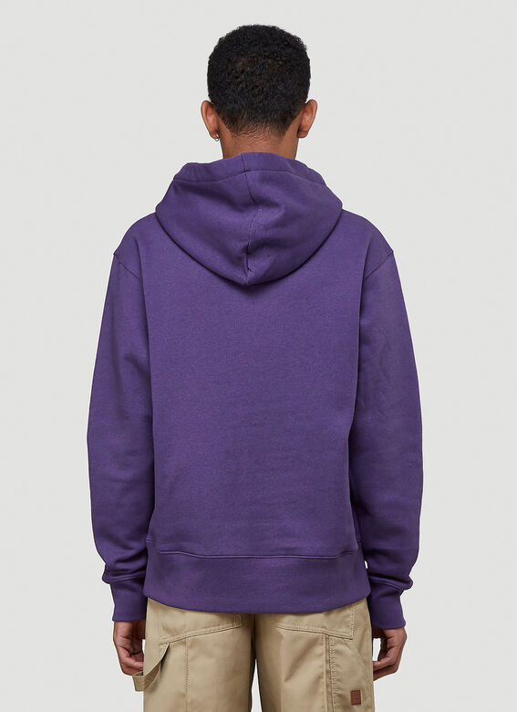 Acne Studios Logo Hooded Sweatshirt 4
