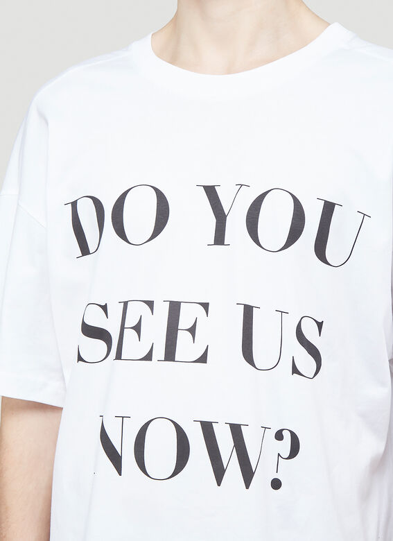 Botter LEANING FORWARD BOTTER T-SHIRT-DO YOU SEE US NOW? 5