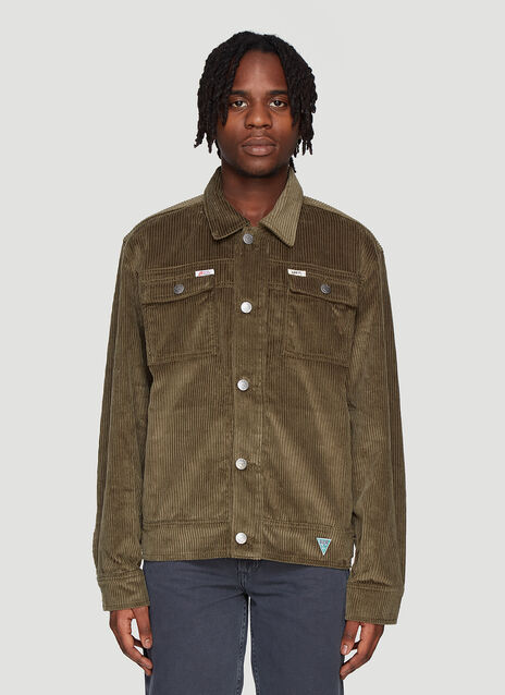 Infinite Archives x Guess Jeans LA Ribbed Worker Jacket