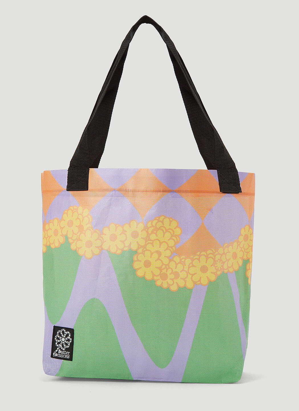 Butter Sessions Inflorescence Tote Bag in Orange