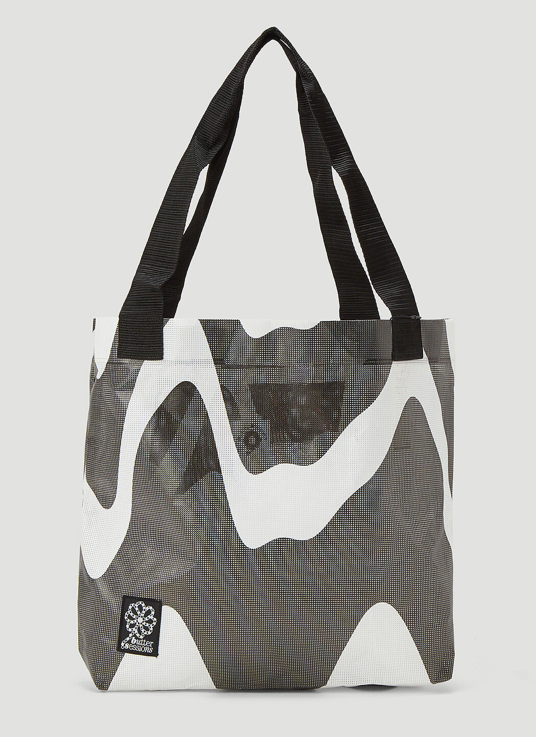 Butter Sessions Inflorescence Tote Bag in Black