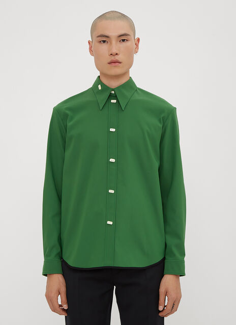 Namacheko Double Faced Satin Stretch Shirt