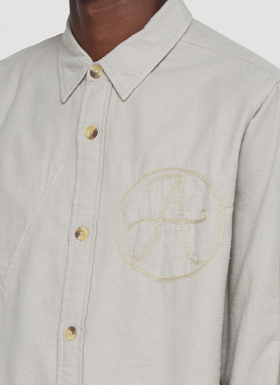 Vyner Articles WORKER EMBROIDERY SHIRT 5