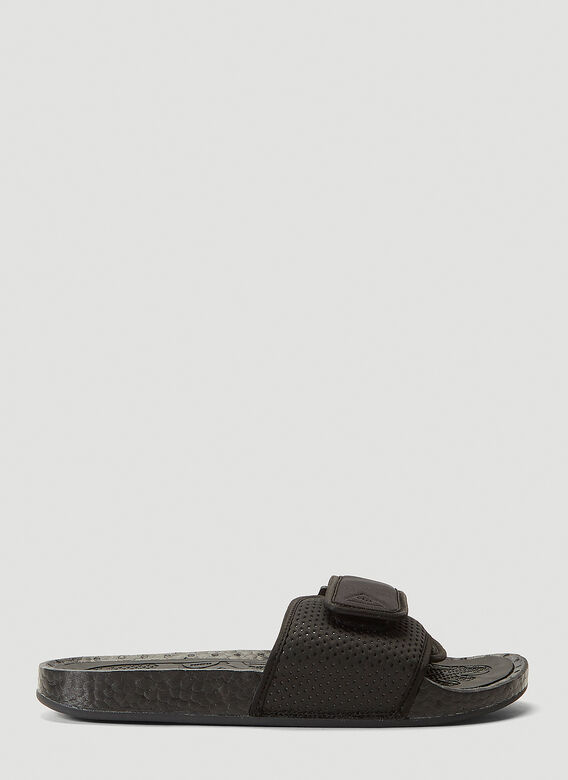 Adidas Originals By Pharrell Williams Boost Slides in Black