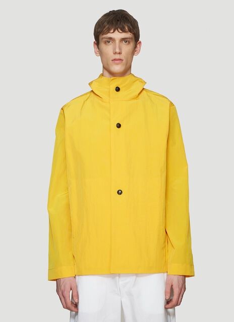 MAN-TLE Snap Spring Hooded Jacket