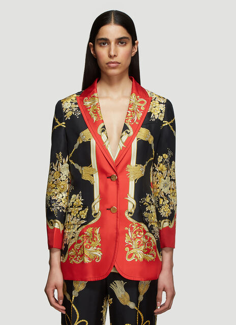 Gucci Flowers and Tassels Jacket