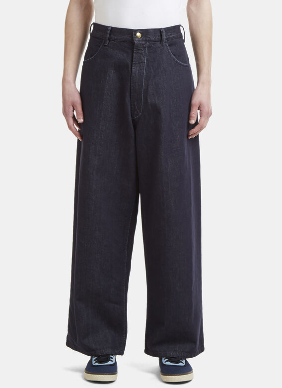 Marni Oversized Denim Pants