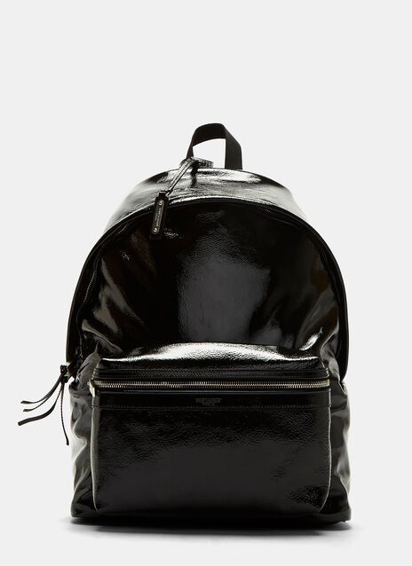 Classic City Patent Leather Backpack