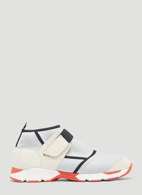 Marni High-Top Hook-and-Loop Sneaker