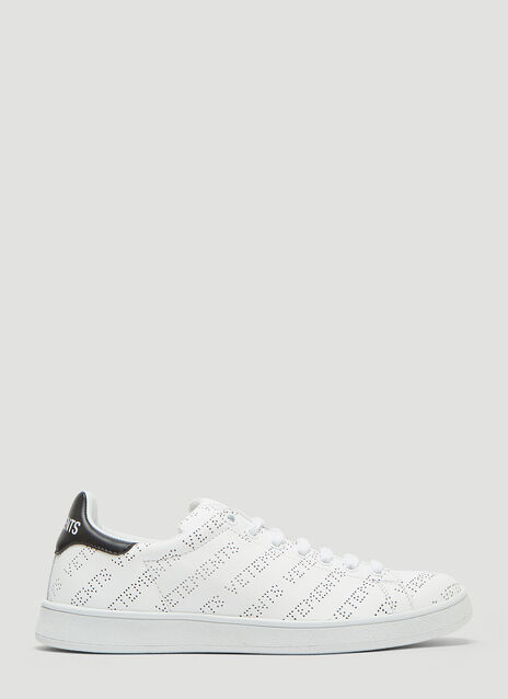 Vetements Perforated Logo Sneakers