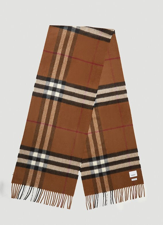 Burberry Check Scarf 3