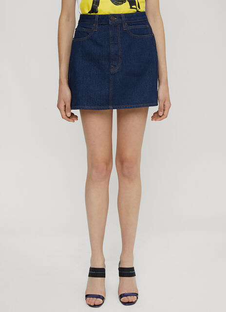 Calvin Klein Est 1978 Denim Mini Skirt