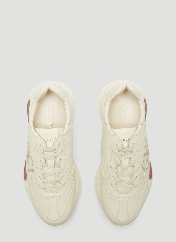 Gucci SNEAKER LEATHER, R.S RHYTON 2