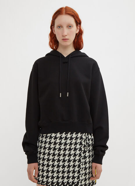 Off-White Cropped Arrow Hoodie