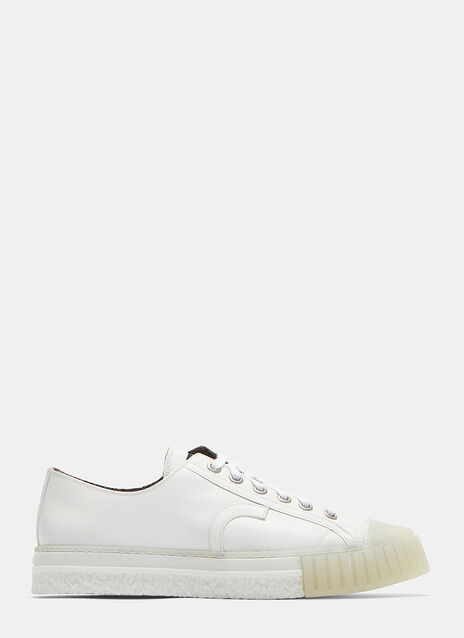 W.O. Soft Shine Low-Top Sneakers