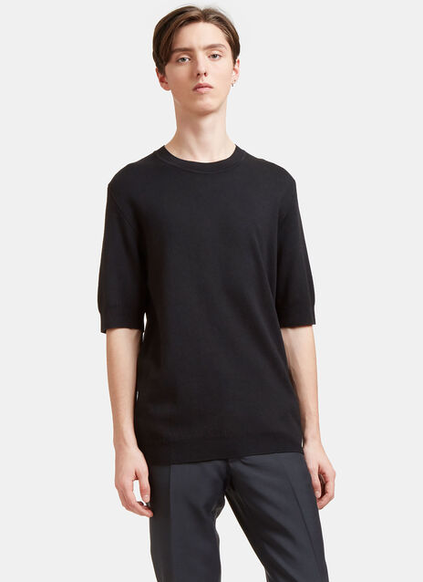 Aiezen AIEZEN Cashmere and Silk Knit T-shirt