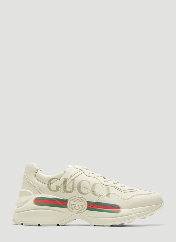 Gucci SNEAKER LEATHER, R.S RHYTON 1