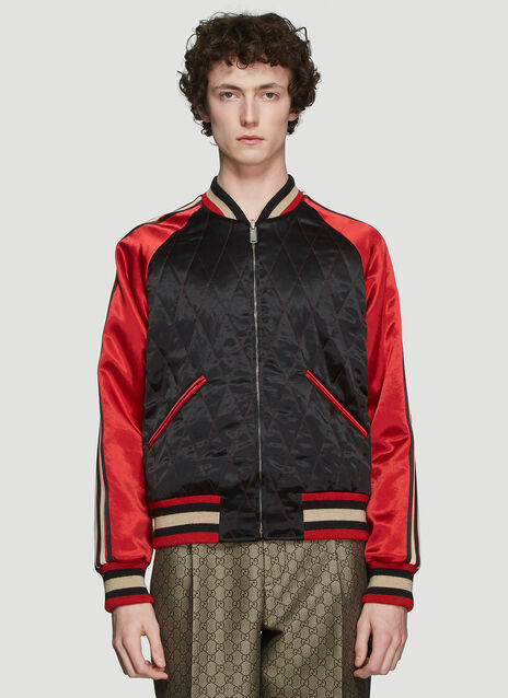Gucci Reversible Tiger Bomber Jacket