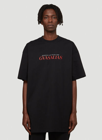 Vetements Keeping Up With The Gvasalias T-Shirt