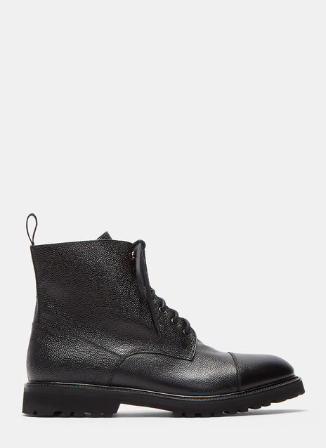 Aiezen Vibram Soled Lace-Up Boots