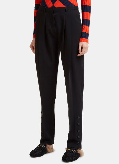 Altuzarra Buttoned Cuff Pleat Pants