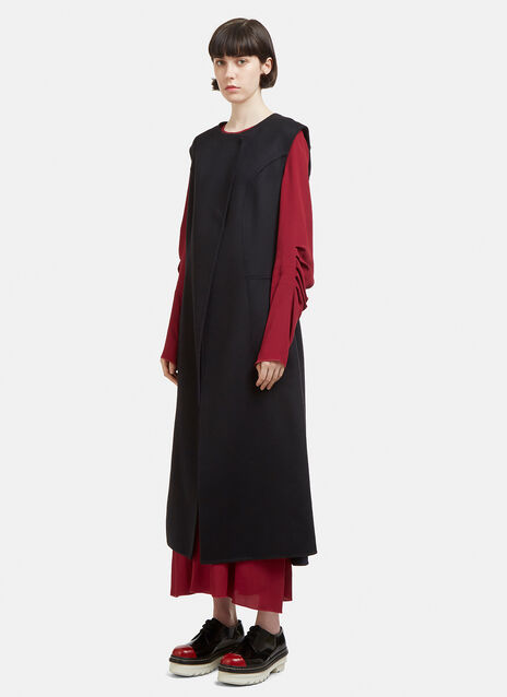 Marni Sleeveless Dress Coat