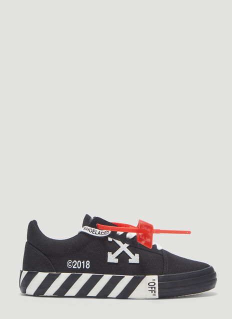 Off-White Vulcanized Low Top Sneakers
