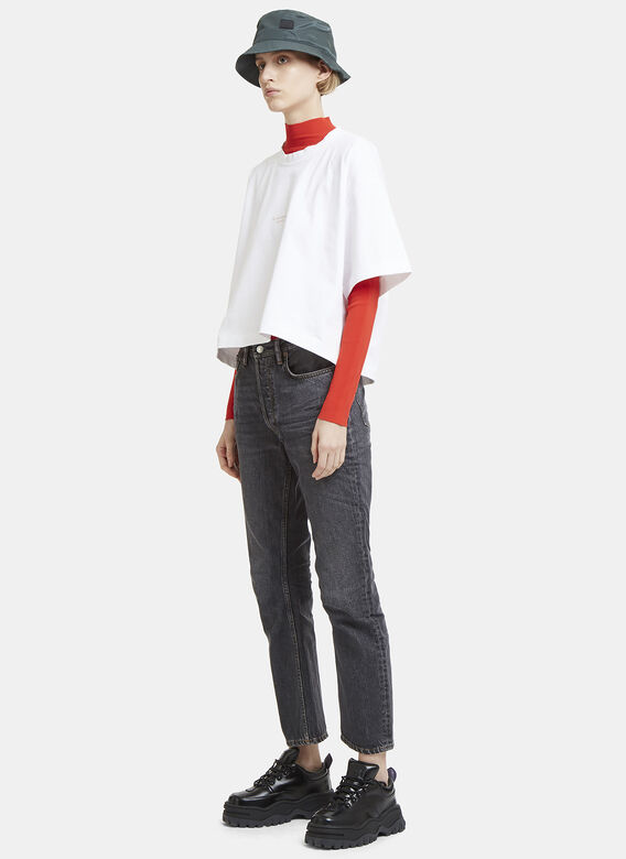 Acne Studios ACNE STUDIOS LOG USED BLK