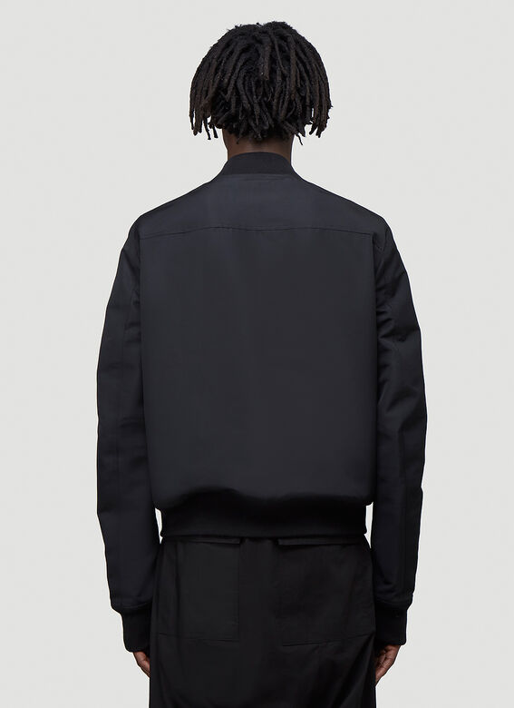 Rick Owens Reversible Cropped Flight Jacket 4
