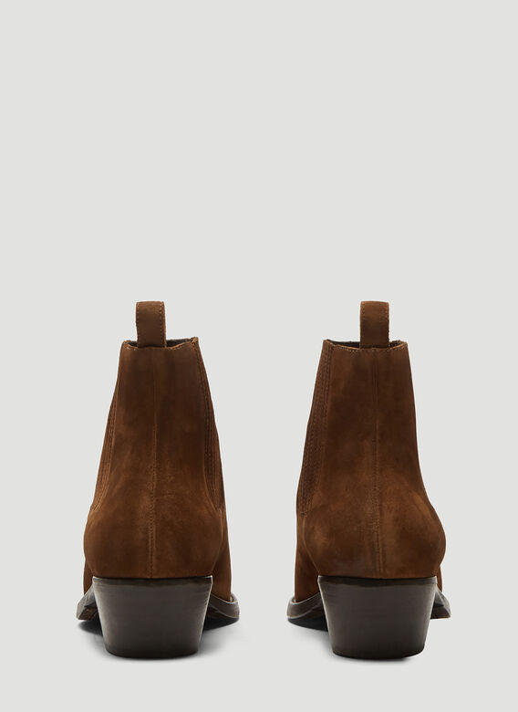 Saint laurent Dakota Suede Chelsea Boots