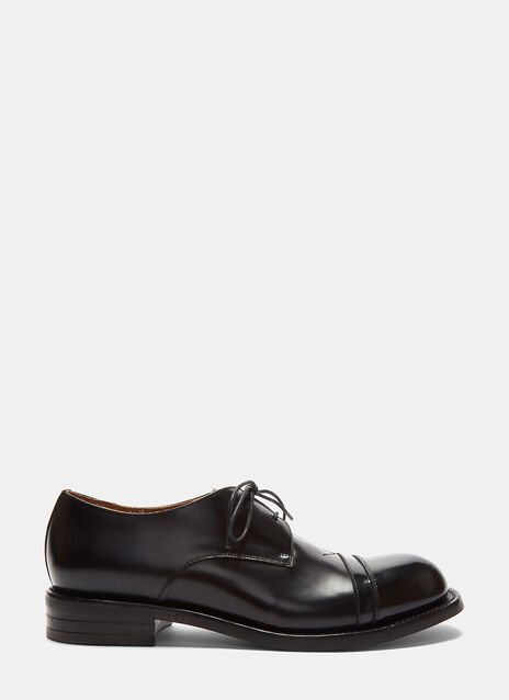 Serge Contrast Shine Derby Shoes
