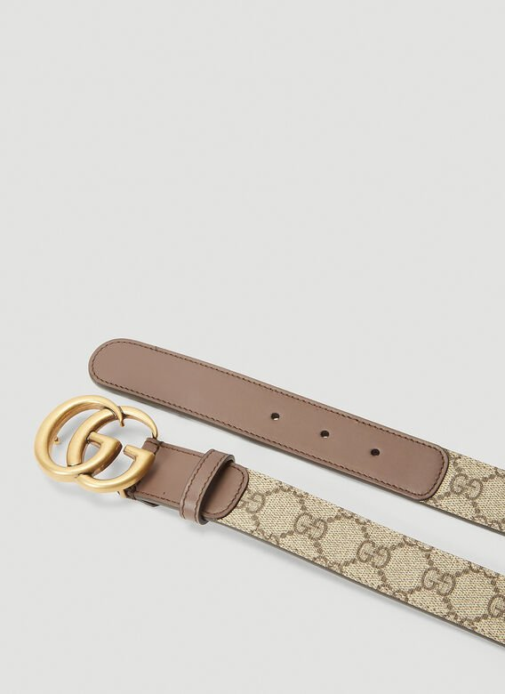 Gucci GG SUPREME FABRIC BELT 3
