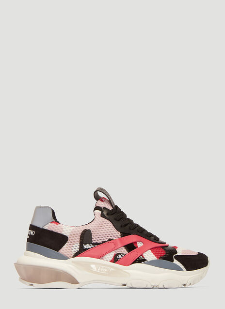Valentino Camouflage Bounce Sneakers f89b9b614c7