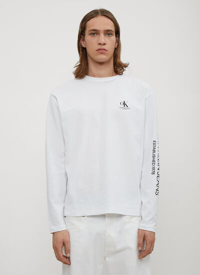 Calvin Klein Est 1978 OK Modernist Long Sleeve T-Shirt
